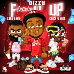 "Dizzy Links With Sada Baby And Sauce Walka For ""Fu*k It Up"""
