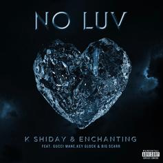 "Gucci Mane, Key Glock Join So Icy Girlz K Shiday & Enchanting On ""No Luv"""