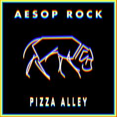 "Aesop Rock Keeps It Cryptic On ""Pizza Alley"""