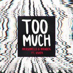"Marshmello, Imanbek, & Usher Combine Styles On ""Too Much"""