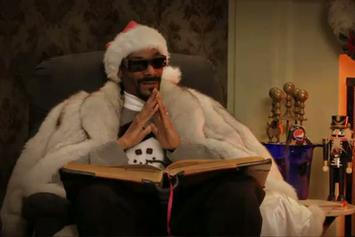 "Snoop Dogg ""A Christmas Story With Snoop"" Video"