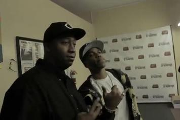 """Curren$y """"Smoke & Greet At Buds And Roses Collective"""" Video"""