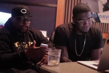 "Big K.R.I.T. ""Talks On ""K.R.I.T."" Mixtape"" Video"