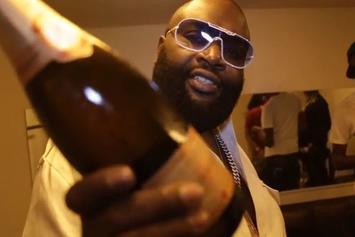 "Rick Ross ""Performs At #ChampagneShowers In France"" Video"