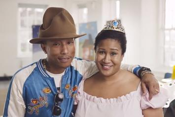 """Pharrell Gives Fan A """"Priceless"""" Surprise"""