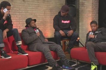 "Vado, Schoolboy Q & Vic Mensa Freestyle On MTV's ""Rapfix Live"""