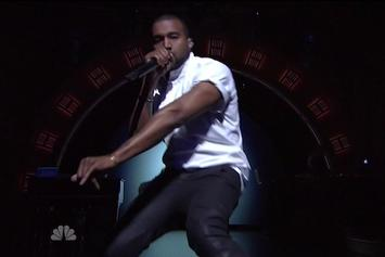 Kanye West Performs Medley Of Hits On Seth Meyers