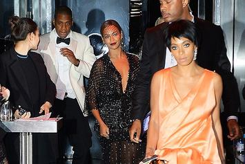 Solange Attacked Jay Z When He Tried To Go To Rihanna's Party Without Beyonce, Sources Report