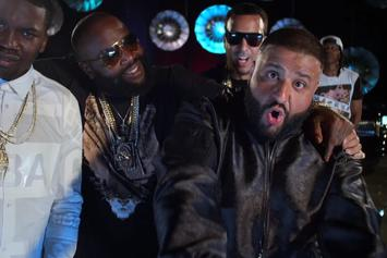 """DJ Khaled Feat. Rick Ross, Meek Mill, French Montana & Jay Z """"They Don't Love You No More"""" Video"""