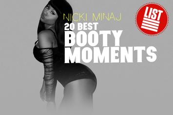 20 Of Nicki Minaj's Best Booty Moments