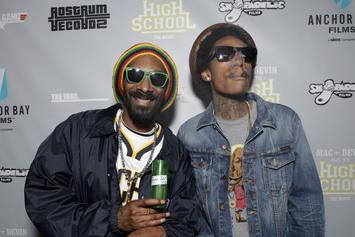 Snoop Dogg & 50 Cent Post Meme Poking Fun At Wiz Khalifa's Purple Hair