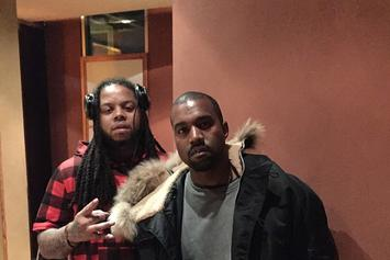 Kanye West & King Louie Were In The Studio Together