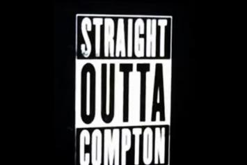 "Ice Cube Previews N.W.A. ""Straight Outta Compton"" Trailer"