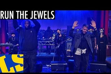 """Run The Jewels (Killer Mike & El-P) Perform """"Early"""" On Letterman"""
