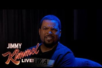 "Ice Cube Says Nice Things Angrily On ""Jimmy Kimmel Live"""