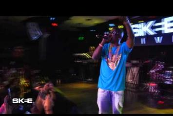 "Lil Boosie Performs ""Smoking On Purple"" On Skee Live"