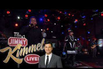 "Kid Ink & Travis Barker Perform ""Show Me"" On Jimmy Kimmel"