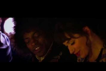 "First Look At Andre 3000 As Jimi Hendrix In ""All Is By My Side"""