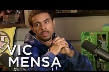 "Vic Mensa On ""Real Late With Peter Rosenberg"""