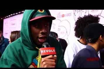 Tyler, The Creator Disses YouTube Music Awards While On Red Carpet
