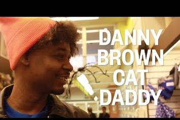 Danny Brown Goes Shopping For His Cat