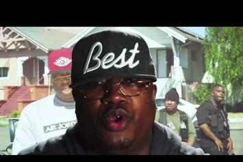 "E-40 Feat. Stressmatic & J.Banks ""Off The Block"" Video"
