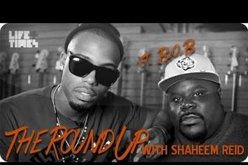 """B.o.B """"The Round Up With Shaheem Reid"""" Video"""