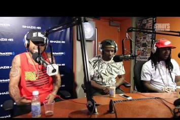 """Dave East Feat. Frenchie & 360 """"Freestyle On Sway In The Morning"""" Video"""