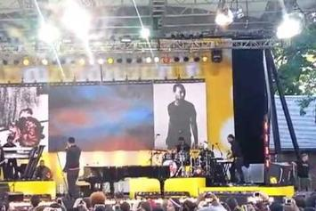 "John Legend ""Performs ""Tonight"" & ""Made To Love"" On GMA"" Video"