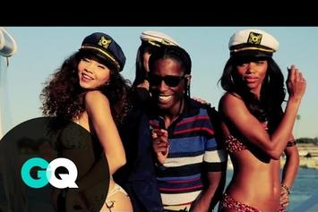 "ASAP Rocky ""GQ Photo Shoot Footage"" Video"