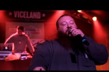 """Action Bronson """"Discusses Obscure Sports References"""" Video"""