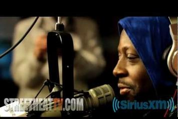 "Wyclef Jean """"Mid-Life Crisis"" In-Studio Performance"" Video"