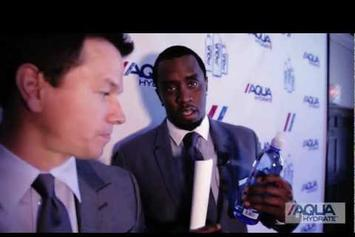 "Diddy Feat. Mark Wahlberg ""Launch AQUAhydrate"" Video"