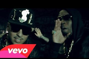 "French Montana Feat. Diddy, Red Cafe, MGK, & Los ""Ocho Cinco"" Video"