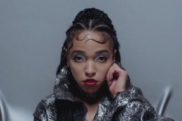 "FKA Twigs ""Glass & Patron"" Video"