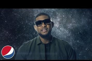 "Usher Previews New Music In ""Pepsi Challenge"" Ad"