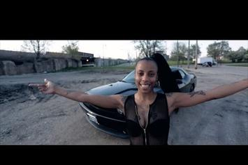 "Sasha Go Hard ""I'm A Threat"" Video"