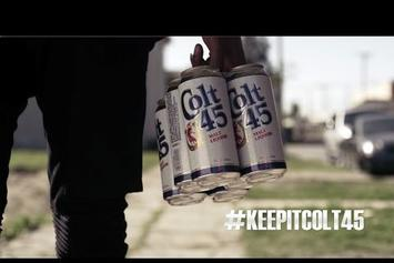OG Maco, Father & Reese Appear In Colt 45 Ad