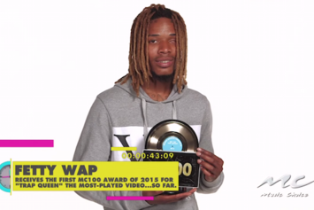 Fetty Wap Gets Emotional After Receiving His First Ever Award