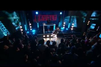 "Kid Ink Performs ""Be Real"" On Revolt TV"