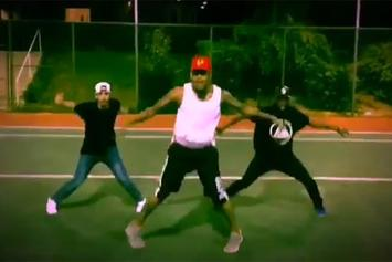 """Chris Brown & Snoop Dogg Dance To Diddy's """"Finna Get Loose"""""""