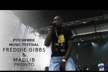 "Freddie Gibbs & Madlib Perform ""Pronto"" & ""Scarface"" At Pitchfork Festival"