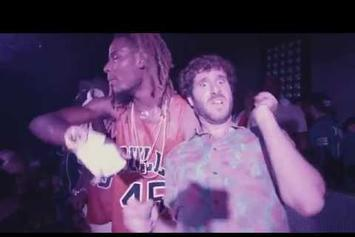 "Lil Dicky Feat. Fetty Wap, Rich Homie Quan ""$ave Dat Money"" Video"