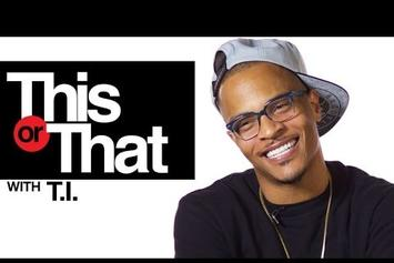 "T.I. Plays ""This Or That"""