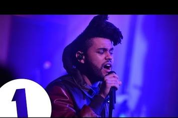 """The Weeknd Performs """"The Hills"""" On BBC Radio 1 Live Lounge"""