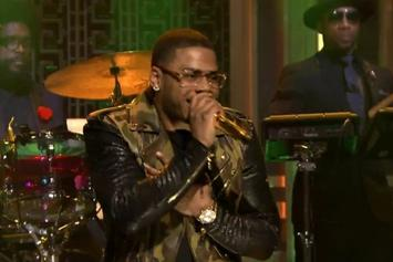 """Nelly Performs """"The Fix"""" On Jimmy Fallon"""