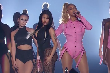 "Beyonce & Nicki Minaj Perform ""Feeling Myself"" At Tidal X 1020 Concert"