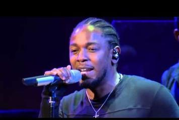 "Kendrick Lamar Performs ""These Walls"" With The National Symphony Orchestra"