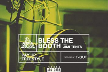 "Jimi Tents ""Bless The Booth"" Freestyle"