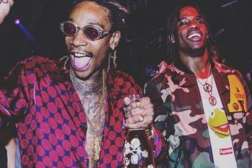 "Wiz Khalifa Confirms Travis Scott Collab ""Bake Sale"" Will Be On Upcoming ""Khalifa"" Album"